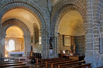 Église de Saignes : construction d'une chapelle latérale en 1750