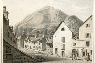 Un carnet de voyage dans le Cantal en 1821