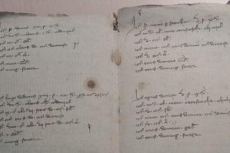 La peste noire dans le Cantal, un aperçu à travers les archives de Dienne